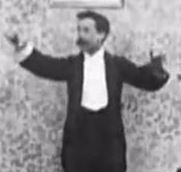 Screengrab from Upside Down; or, the Human Flies (1899)